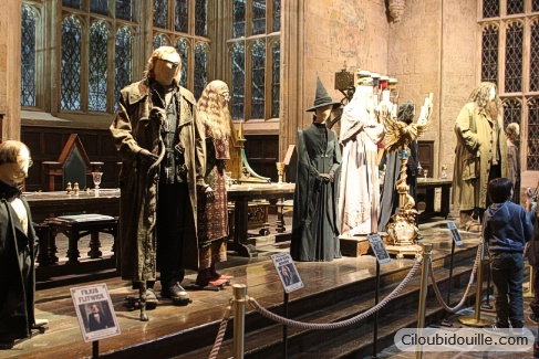 costumes personnages harry potter