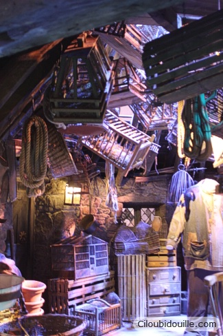 studios harry potter cabane hagrid