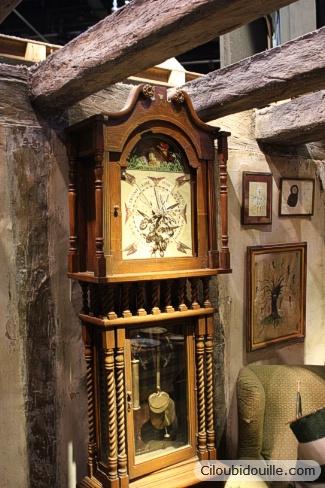 studios harry potter horloge des Weasley