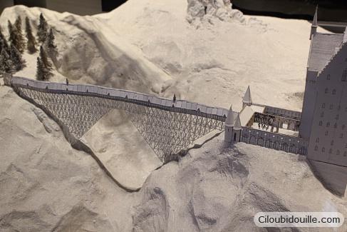 maquette pont de poudlard