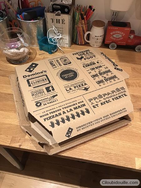 boite de pizza