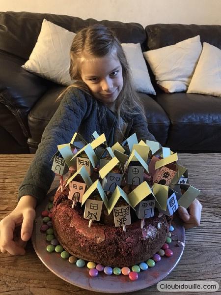 gâteau déménagement