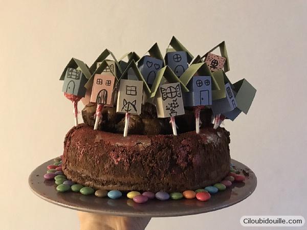 gâteau maison sucette
