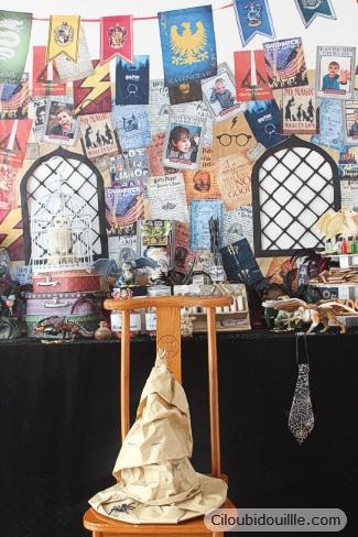 anniversaire Harry Potter maison