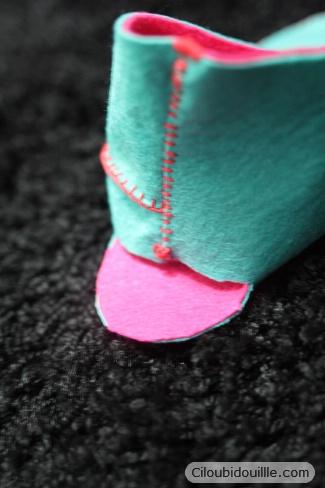 Fabriquer Des Chaussons En Feutrine Ciloubidouille