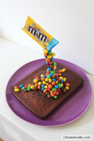 un gâteau à la présentation facile à réaliser et qui plait beaucoup ^^.  Pis, c\u0027est le genre de déco qui s\u0027adapte autant à des enfants qu\u0027à des  adultes !