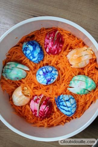 colorier ses oeufs pour pâques