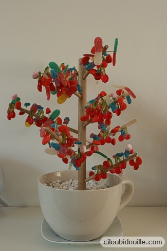 Fabriquer un arbre bonbons ciloubidouille - Arbre a carotte ...