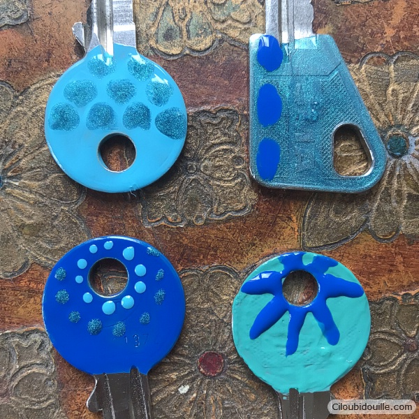 clés vernis à ongle