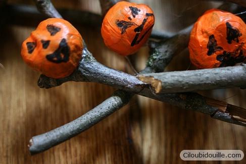 couronne d'Halloween