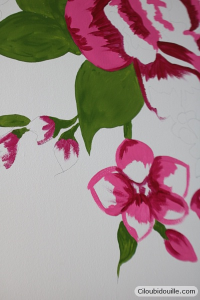 Peindre Un Motif Sur Un Mur Ciloubidouille