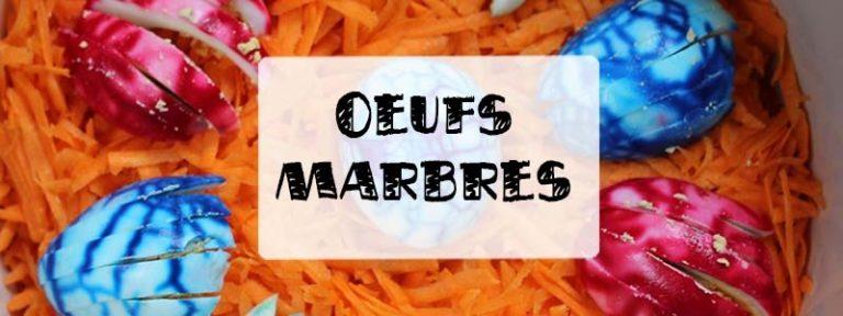 oeufs marbrés colorants alimentaires