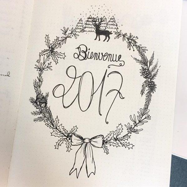 Dessin bienvenue 2017