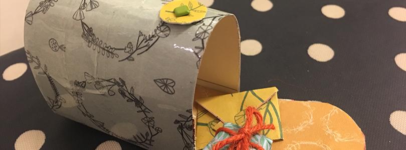 fabriquer une bo te lettre miniature pour la petite souris ciloubidouille. Black Bedroom Furniture Sets. Home Design Ideas