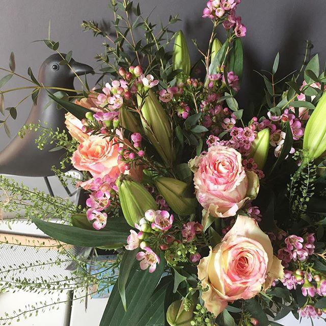 Le joli bouquet de l'amoureux qui embaume la maison