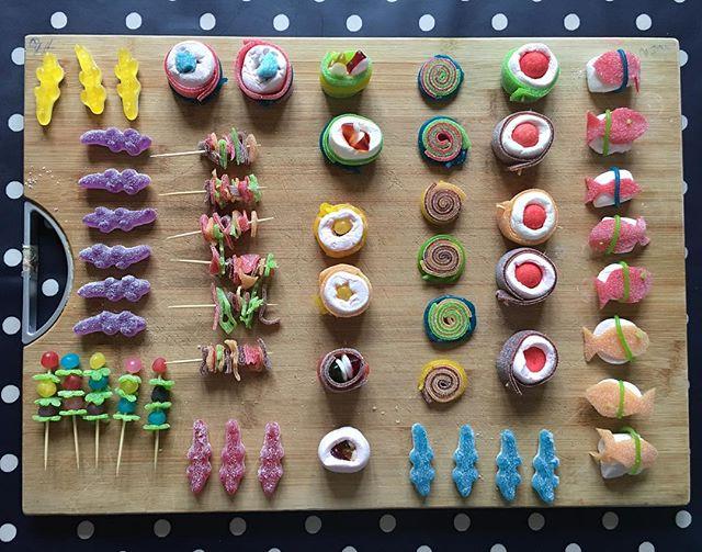 Ca parle bonbons et sushis sur mon blog en ce moment :) #ciloubidouille #sushi #sushi #japanesefood #yummy #candy
