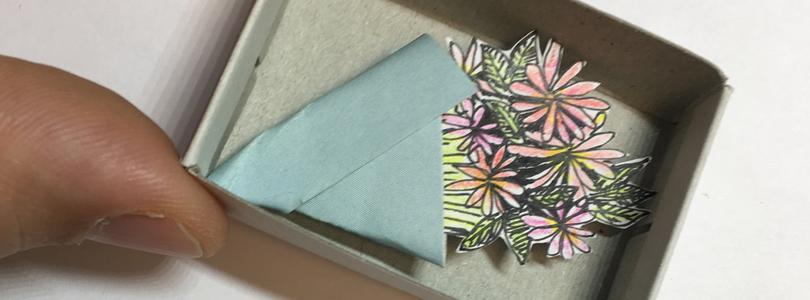 Fabriquer des mini-boîtes à message