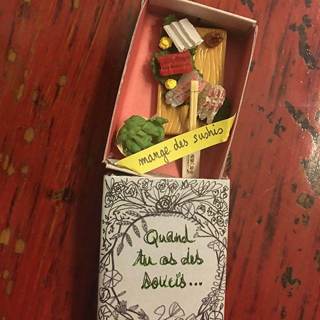 """Si vous voulez en savoir plus sur ma passion """"mini boites à message"""", c'est sur mon blog :) #craft #diy #matchboxart #ciloubidouille"""