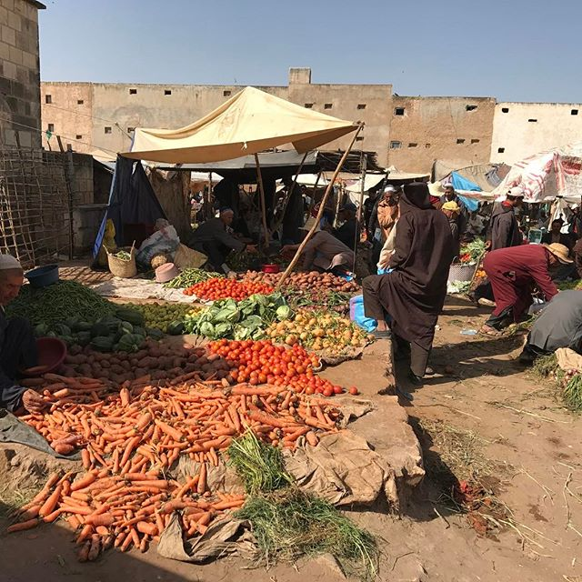Le souk de Had Draa, rural au possible :) #essaouira #ciloubidouilleauMaroc