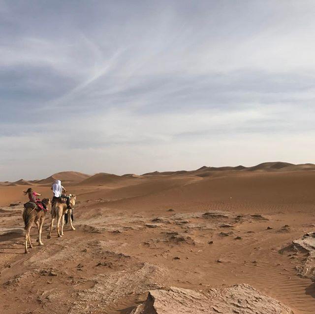 A nous les dûnes, amplement méritées après ce voyage long et éreintant #désertmarocain #chegaga #ciloubidouilleauMaroc #maroc