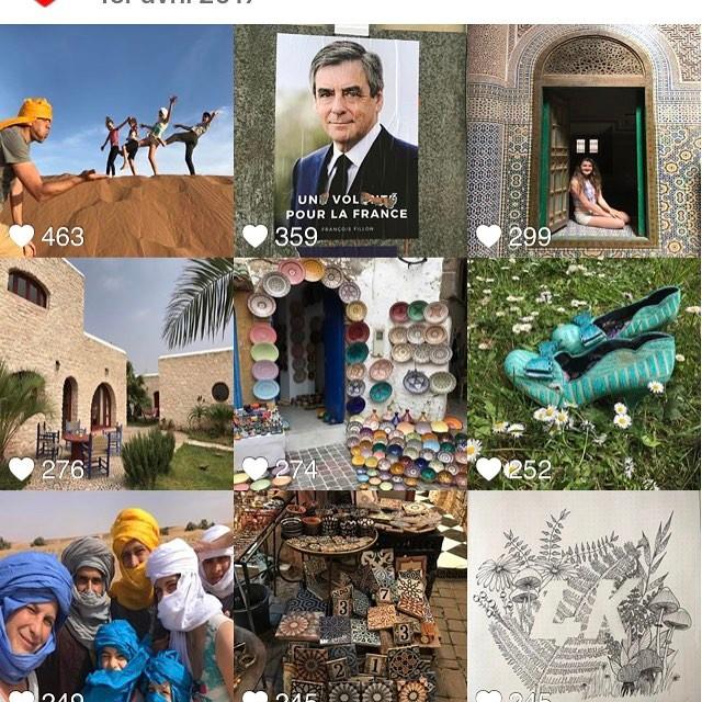 Au mois d'avril, vous avez aimé notre séjour au Maroc, les 15 ans de Maëlle, mes 40ans, un peu de politique et un de mes dessins :). Place au mois de mai !