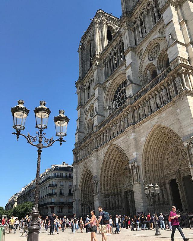Notre Dame de Paris, la magnifique #paris #parisjetaime