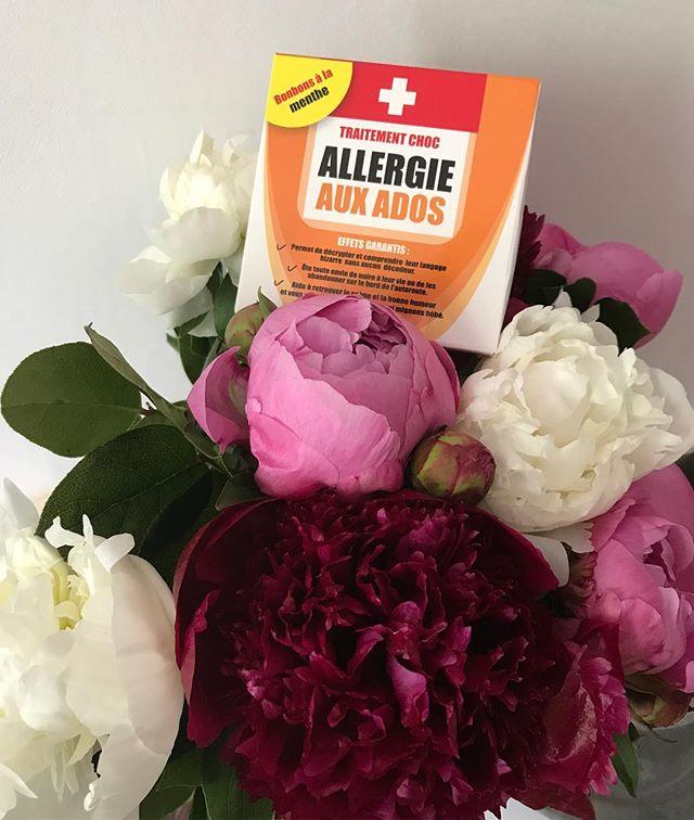 Des fleurs et des médicaments un peu spéciaux pour la fête des mères (pis plein de dessins et d'autres jolies surprises). Dans la série maman de plein d'enfants, pour les cadeaux, je recommande les filles ! Elles assurent quand mm plus que mes gars ^^