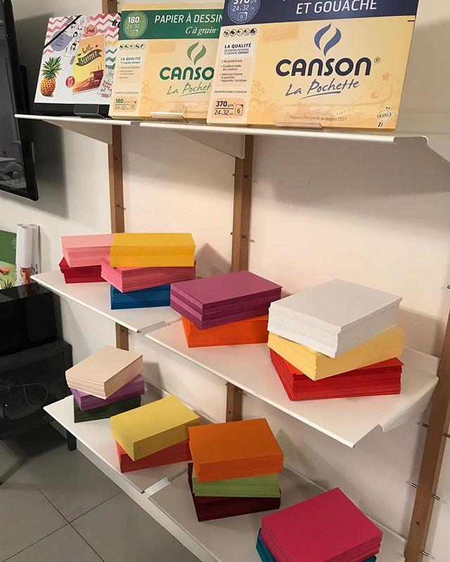 Il y a de jolies couleurs qui débarquent chez Canson (j'ai appris au passage que leur production est totalement française) #cansonDIy