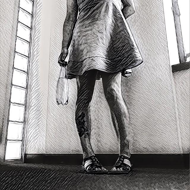 Grosse fan de l'application Prisma pour les filtres un peu créatifs. Ca m'inspire souvent pour mes dessins.
