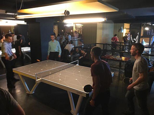 Soirée au Gossima Ping Pong Bar ! Je recommande vivement le lieu ! Hyper sympa pour une soirée après le boulot avec les copains :) #ciloubidouillesorties #paris #gossimapingpongbar