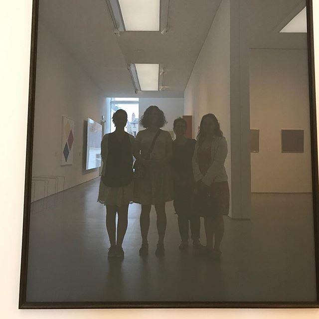 Les Marie dans le miroir de Richter #muséed'artdenantes