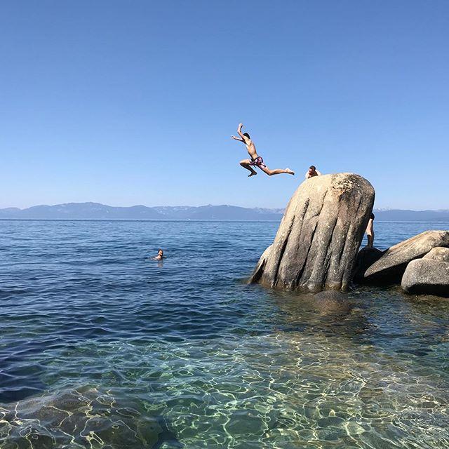 Celui qui était toujours dans l'énergie #myboy #tahoe #laketahoe #ciloubidouilleinUSA