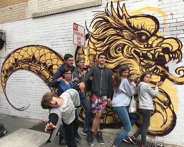 Team actors studio #sanfrancisco #ciloubidouilleinUSA #streetart #graffitiart