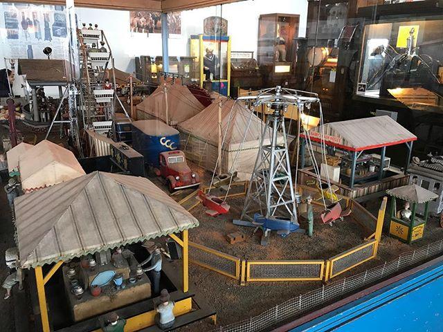 Fête foraine miniature au musée de la mécanique #mechanicmuseum #sanfrancisco #ciloubidouilleinUSA