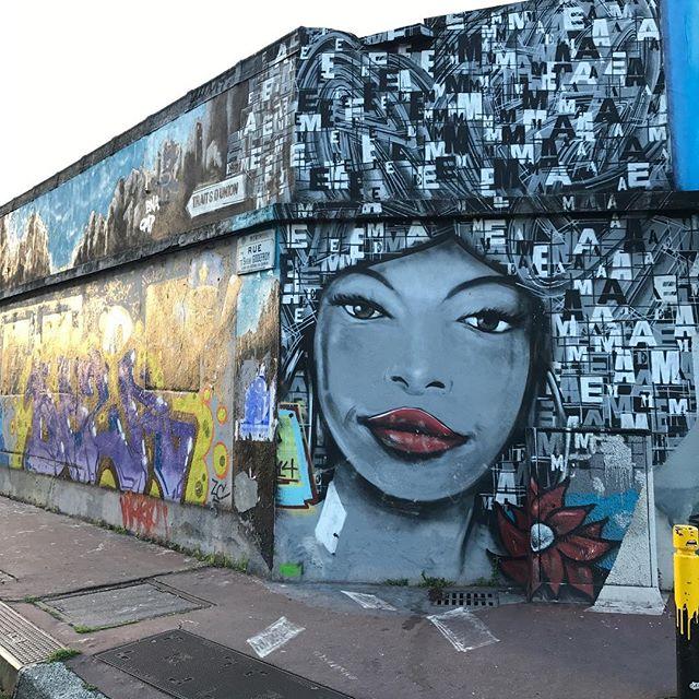 Une jolie dame de Montreuil #streetart #graffitiart #montreuil