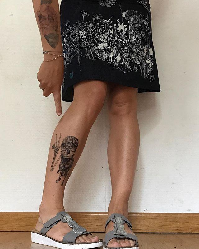 Pour ceux qui se demandent combien de temps durent les tatouages éphémères, j'ai mis celui-ci le 29 août... #tatouageephemere #ciloubidouilletattoo