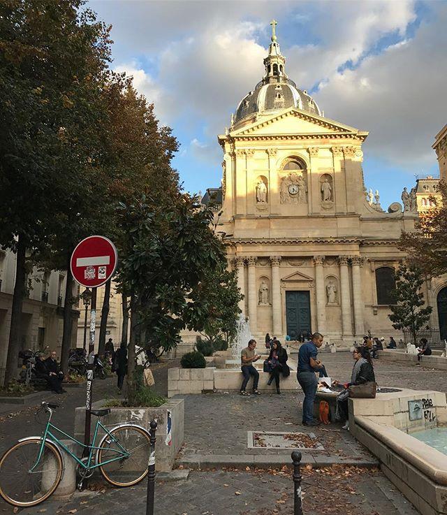 La Sorbonne, ou le joli souvenir de mes années étudiantes #paris #sorbonne