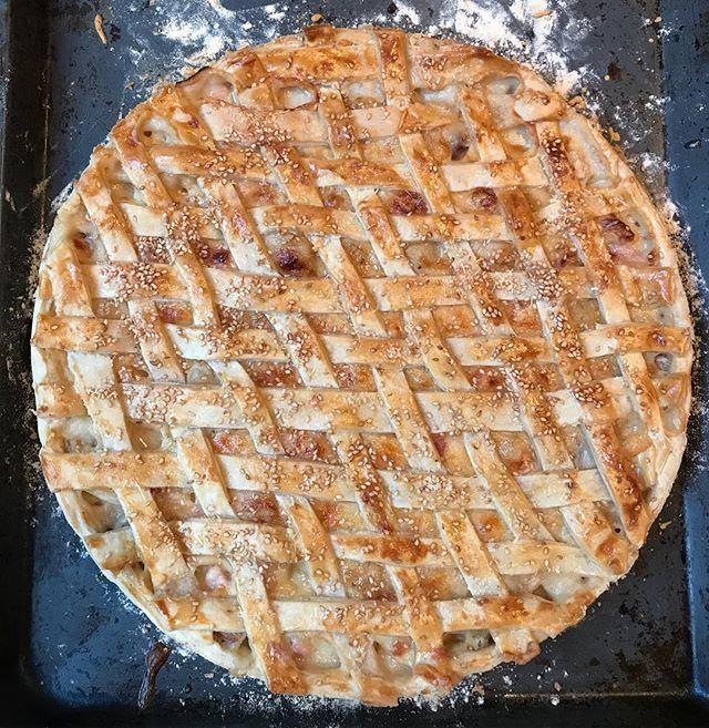 Tarte à l'oignon sin crouton #extradanslordinaire #tartealoignon #somarthastewart