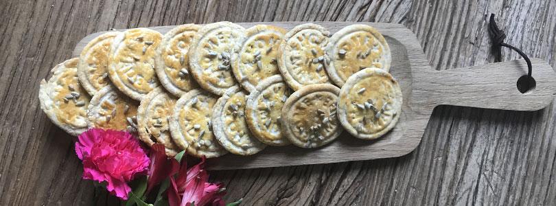 Recette de biscuits apéritifs maison