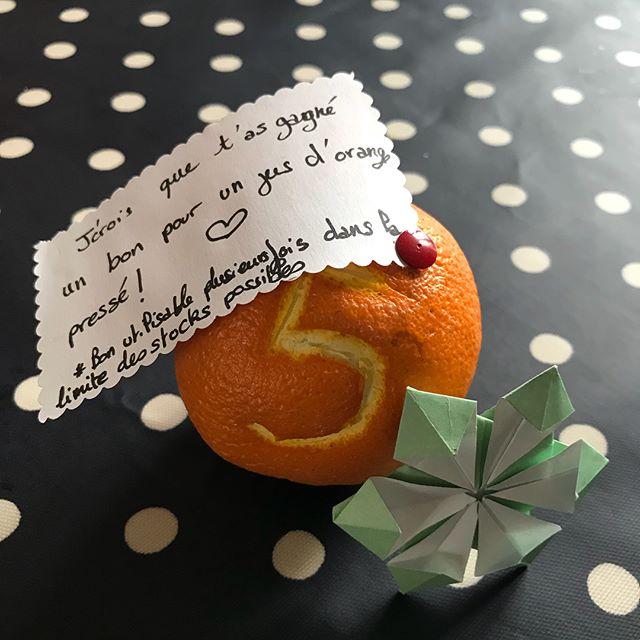 Les deux derniers origamis de l'avent de Maëlle ! Un pour son papa et un dans mon bujo. Je la trouve super créative et inspirée.