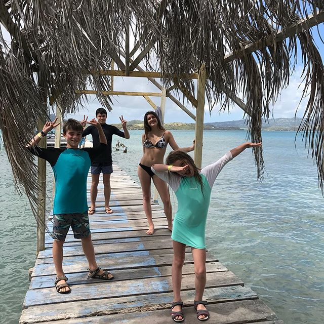 Sur un des îlets près de la baignoire de Joséphine #cilouenmartinique #martinique