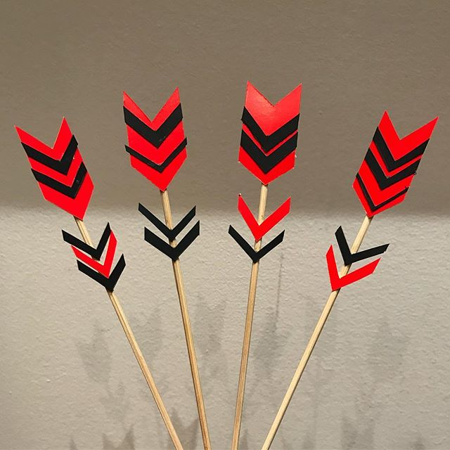 Ca parle surprise de la Saint-Valentin sur mon blog :) #ciloubidouille #cupidon #fleche #diy