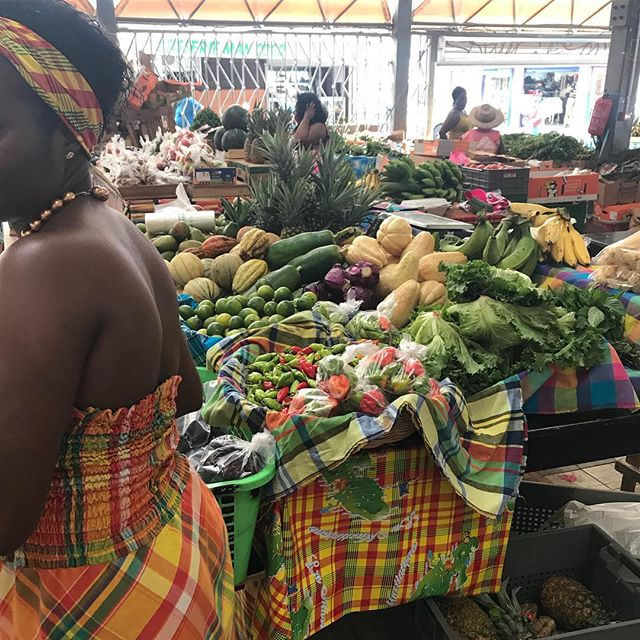 Marché de Fort de France #martinique #cilouenmartinique