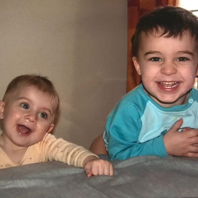 Mes deux grands quand ils étaient petits...