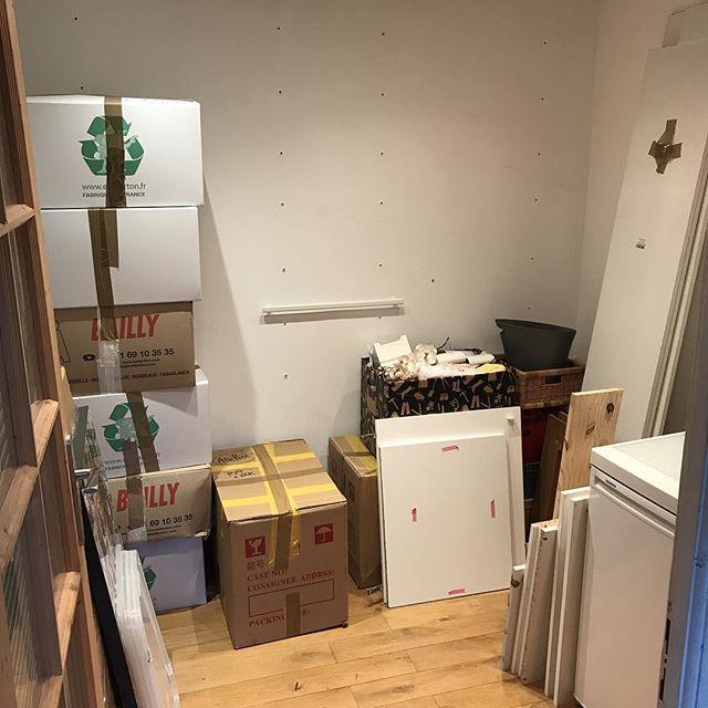 Je n'ai plus d'atelier dans ma maison n°1. Mais celui de ma maison nº2 avance bien. On déménage ce WE. C'est un peu chaud patate mais faut bien le faire un jour !