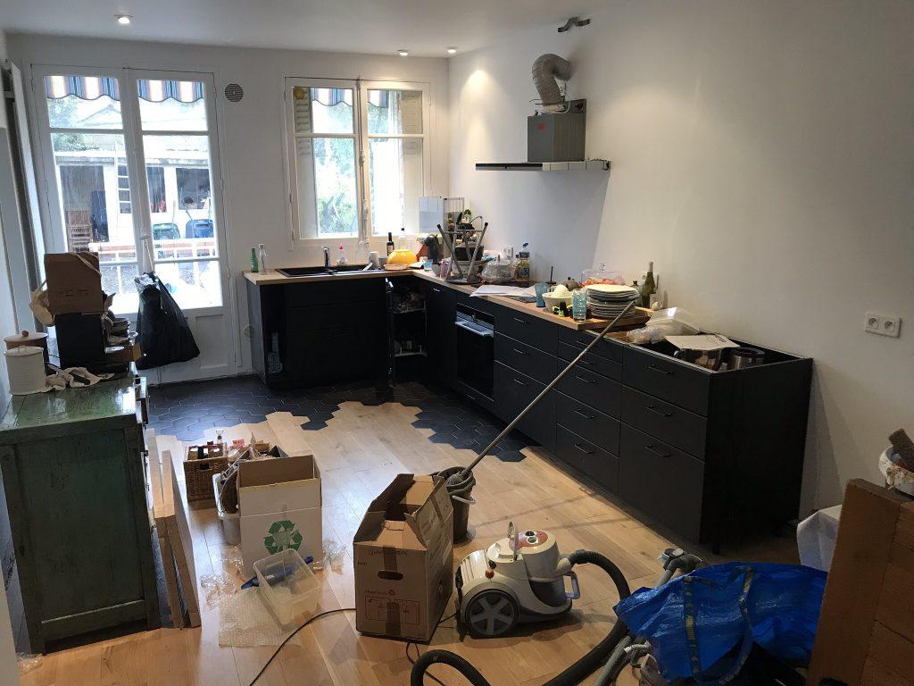 montage meuble cuisine ikea