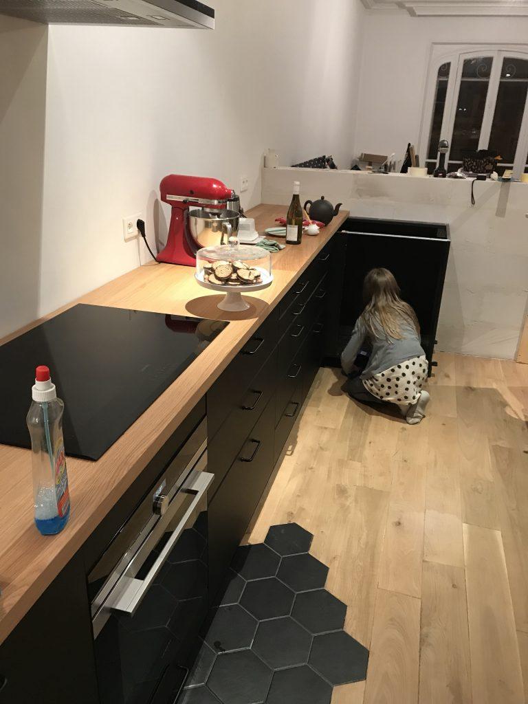 Verriere Pas Cher Ikea installation de la cuisine : le montage #2 - ciloubidouille