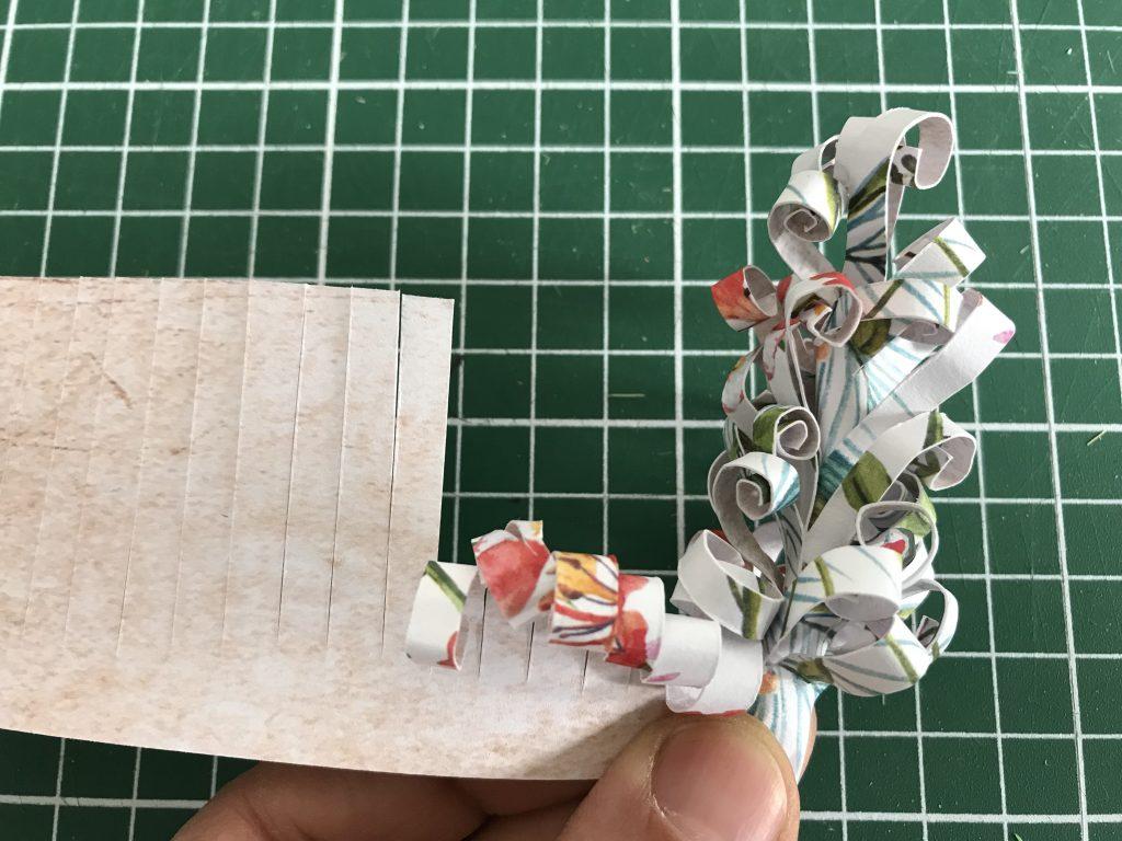 fabriquer une jacinthe en papier