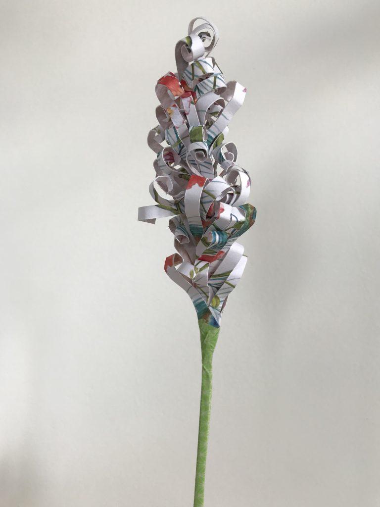 faire une jacinthe en papier