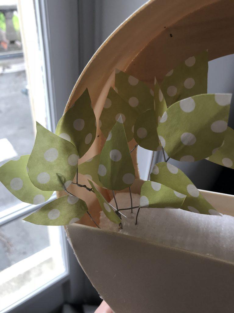 faire des plantes en papier